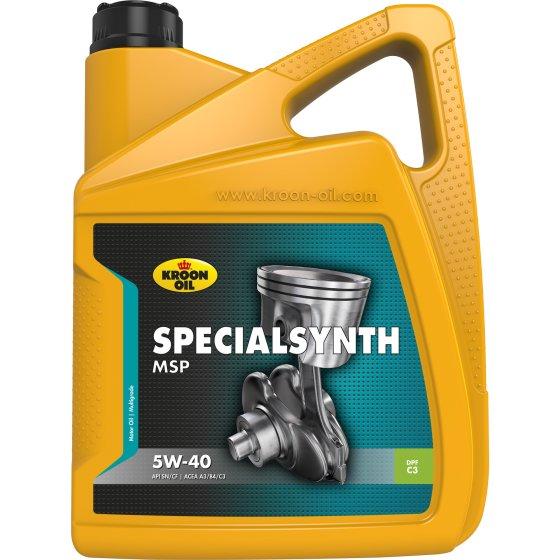 Масло моторное Specialsynth MSP 5W40 5л